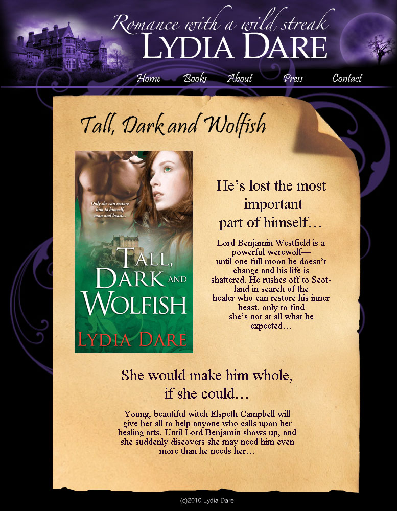 Tall Dark and Wolfish